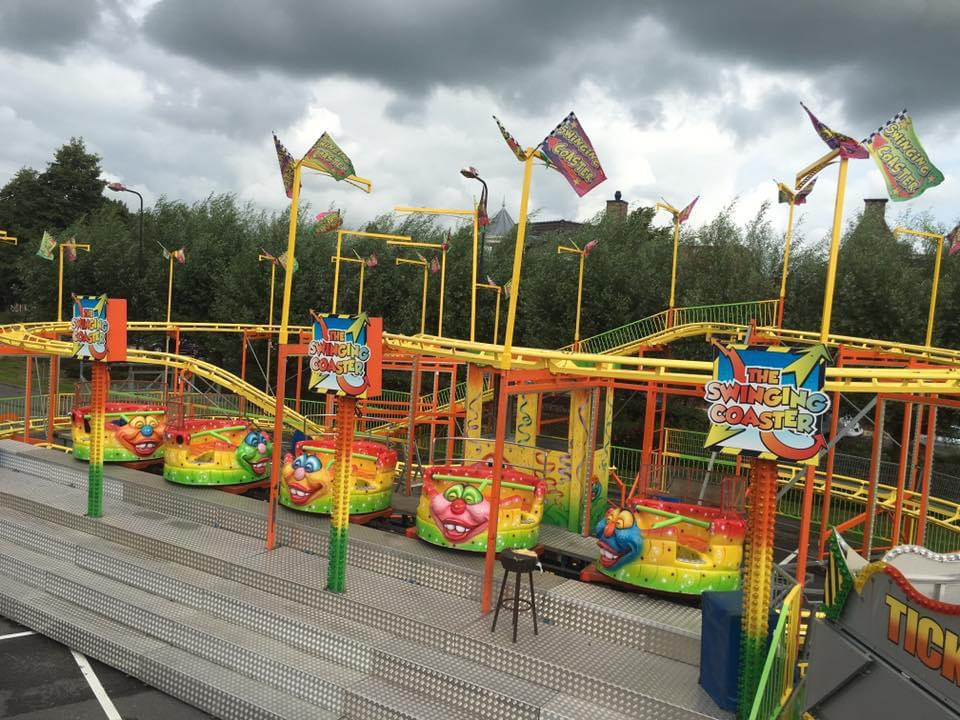Kids Entertainment : Achtbaan Huren