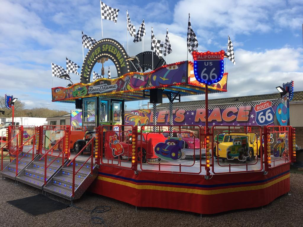 Kids Entertainment : Race O Rama Kermisattractie Huren