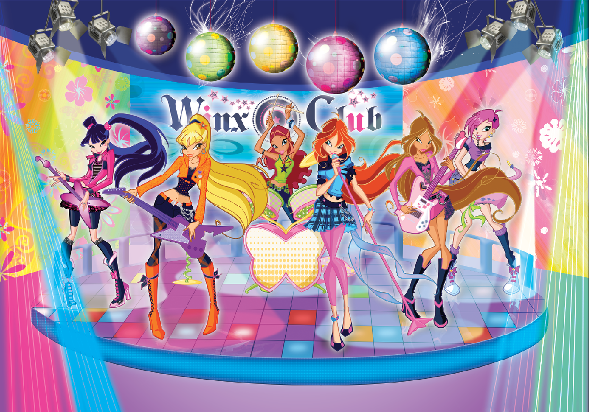 Kids Entertainment : Winxclub boeken / inhuren